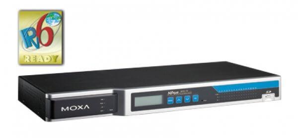 Moxa Terminal Servers - NPort 6610/6650 Series 8, 16, and 32-port RS-232/422/485 rackmount terminal servers