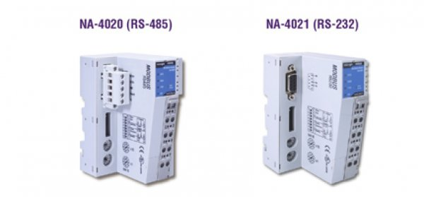 Moxa Remote I/O NA-4020/4021 - RS-485 or RS-232 network adaptors