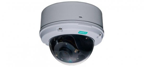 VPort 26A-1MP Series Dome type wide temperature IP camera for outdoor