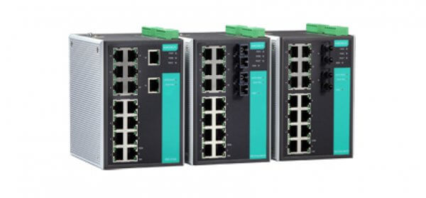 Moxa DIN-Rail Managed Switches EDS-516A Series - Industrial 16-port Managed Ethernet Switches
