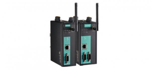 Moxa Ethernet Fieldbus Gateways - MGate W5108/W5208 series 1 and 2-port IEEE 802.11a/b/g/n wireless Modbus/DNP3 gateways