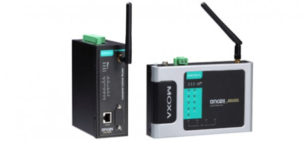 Moxa Cellular Routers- Industrial five-band GSM/GPRS/EDGE/UMTS/HSPA high speed routers