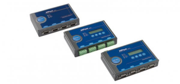 Moxa Device Servers - NPort 5410/5430/5450 Series 4-port RS-232/422/485 serial device server