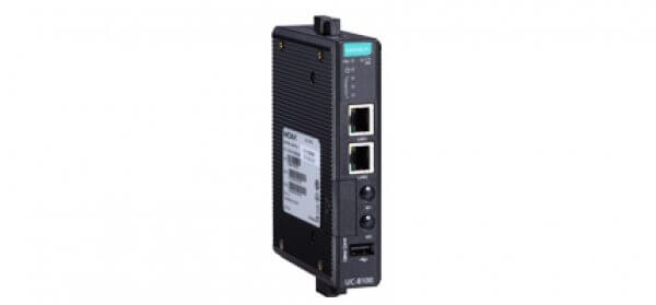 Moxa UC-8100 industrial wireless computer is designed with compact size, wide-temp tolerance and 5 years warranty rugged deisgn.