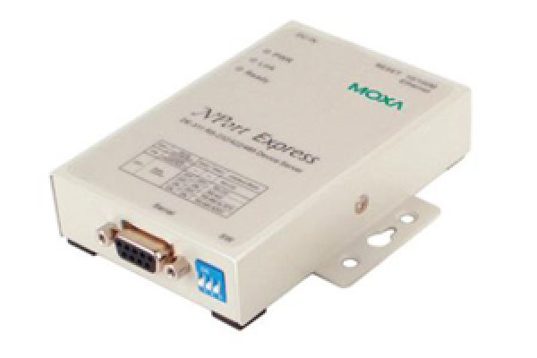 Moxa Device Server - NPort Express DE-311 1-port RS-232/422/485 serial device server