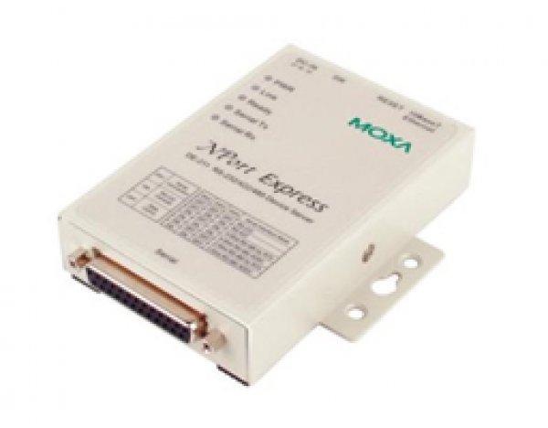 Moxa Device Server - NPort Express DE-211 1 port RS-232/422/485 serial device server