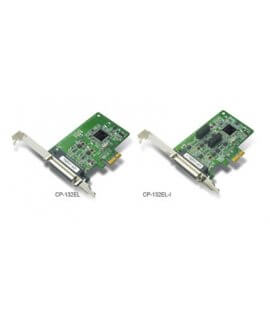 CP-132EL/EL-I---2-port RS-422/485 smart PCI Express boards with 2 KV isolation protection