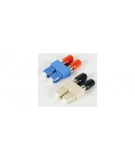 Male SC to Female ST Duplex Adapters