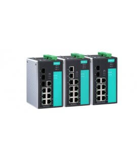 Moxa Managed Ethernet Swtich - EDS-510A Series 7+3G-port Gigabit managed Ethernet switches