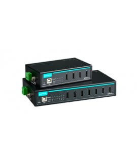 Moxa Industrial USB - UPort 404, UPort 407 4 and 7-port industrial-grade USB hubs