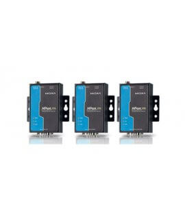 Moxa Device Servers - NPort 5110A/5130A/5150A Series 1-port advanced RS-232/422/485 Serial Device Servers