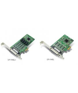CP-114EL/EL-I---4-port RS-232/422/485 smart PCI Express boards with 2 KV isolation protection