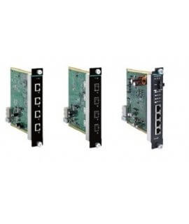 Moxa Media Modules for Ethernet Swtich - IM-G7000A Series 4G-port Gigabit Ethernet interface modules