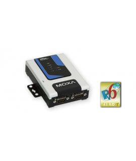 Moxa Terminal Servers - NPort 6250 Series 2-port RS-232/422/485 secure terminal servers