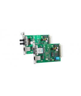 Moxa Ethernet Media Converters - CSM-200 series 10/100BaseT(X) to 100BaseFX slide-in modules for the NRack System