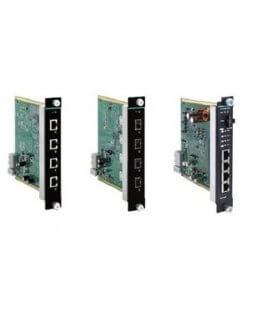 Moxa Media Modules for Ethernet Swtich - IM-G7000A Series 4G-port Gigabit Ethernet interface modules